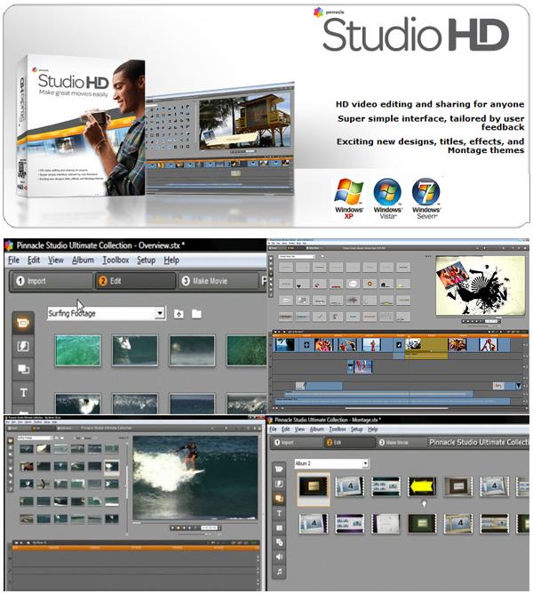 Collection Posting Millenium: Pinnacle Studio 14 HD Ultimate