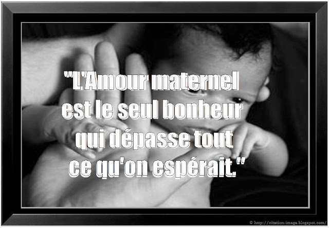 citation mère enfant en image