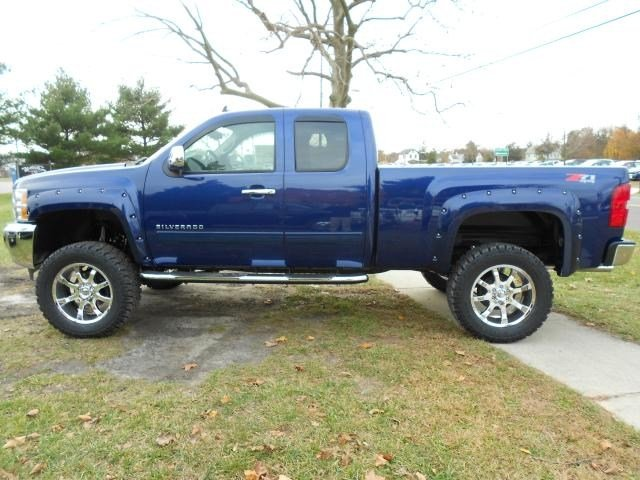 Lifted Trucks For Sale: 2013 Chevy Silverado 1500 Rocky Ridge Altitude