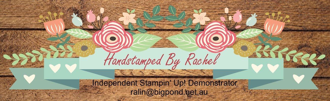 Handstamped by Rachel