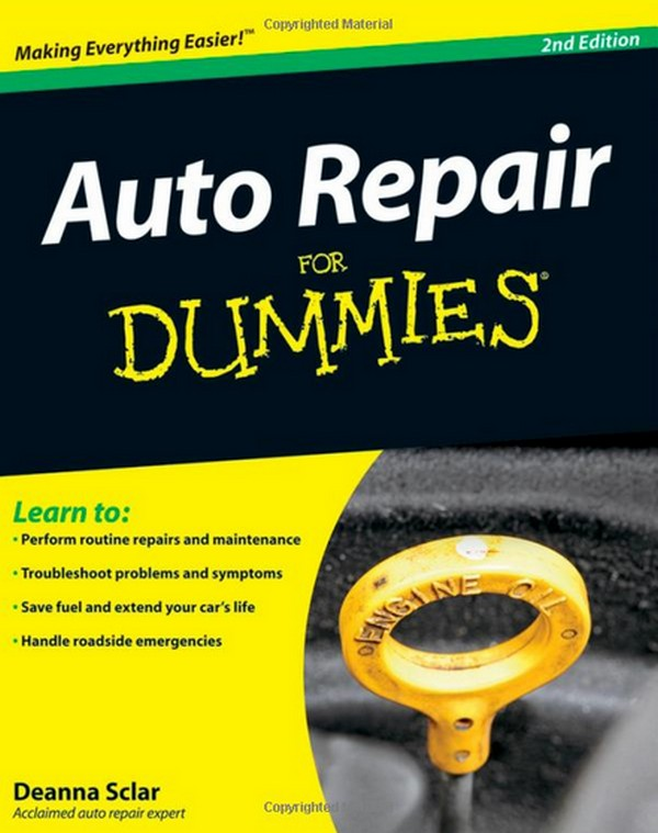 Auto Repair For Dummies by Deanna Sclar without Free Download E ...