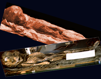 Roswell Slides - Smoking Gun Picture is Child Mummy