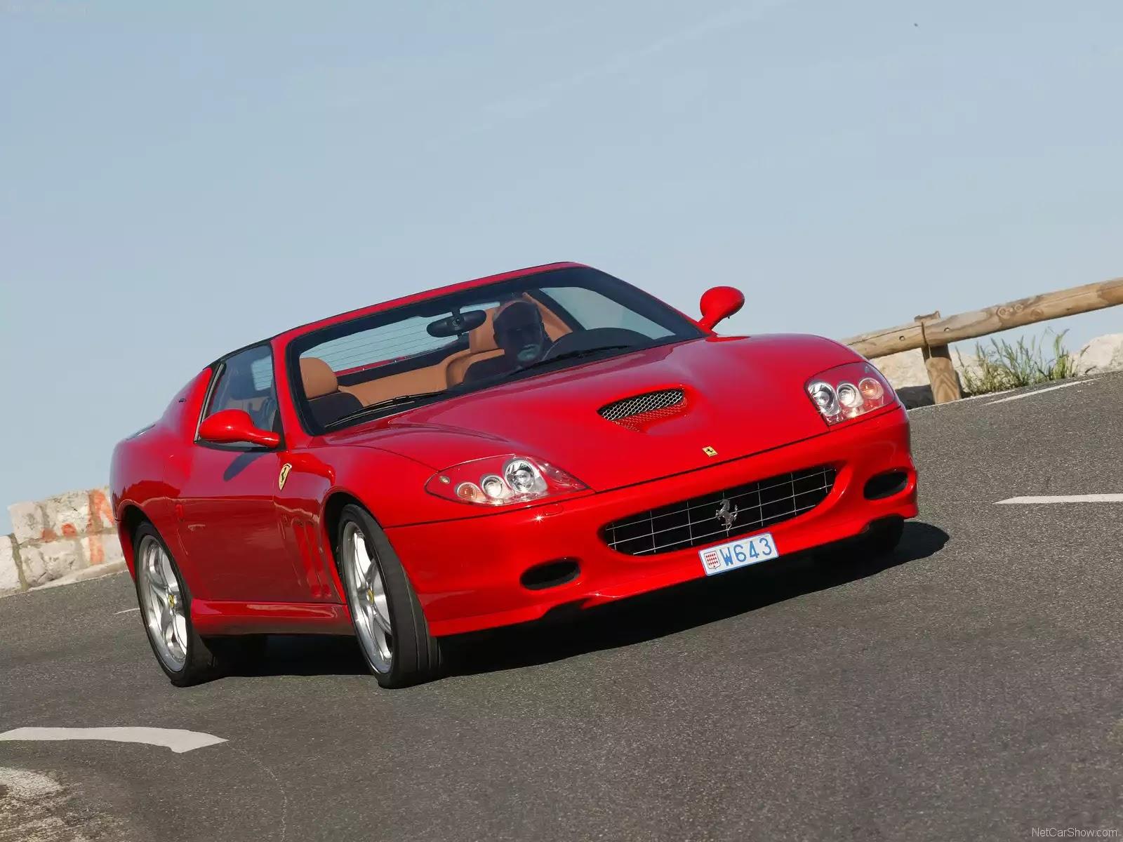 Hình ảnh siêu xe Ferrari 575M Superamerica 2005 & nội ngoại thất