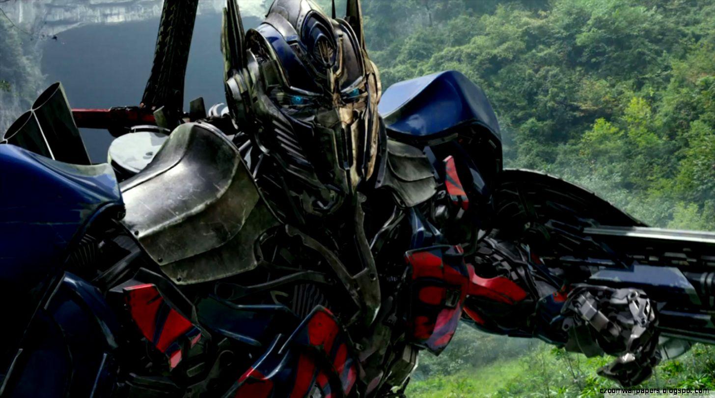 Transformers 4 Age of Extinction   Optimus Prime Desktop