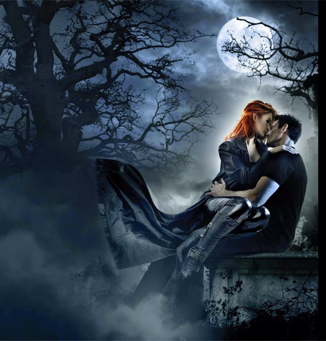 Image result for vampire couple medieval
