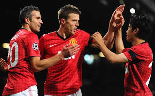 Manchester United vs Galatasaray, Liga Champions Grup H, 2012