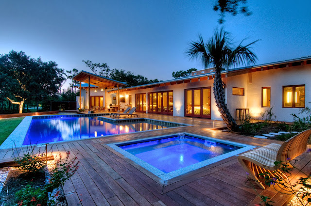 power haus top green home design pool