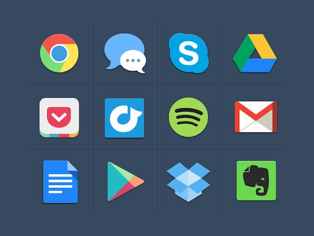 Ressources Web du Lundi #008 by Iscomigoo Webdesign: pack d'icônes colorés