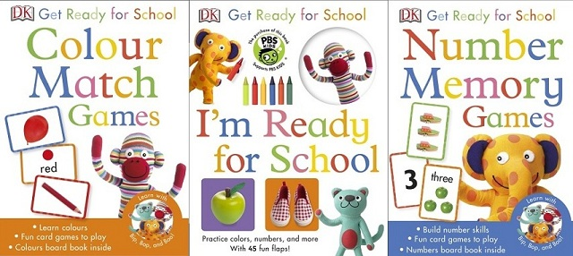 InfoMommy Insight: The Get Ready For School Book/Game Series ...