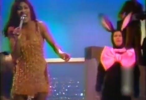Bild Tina Turner Live-Auftritt mit Hasengag
