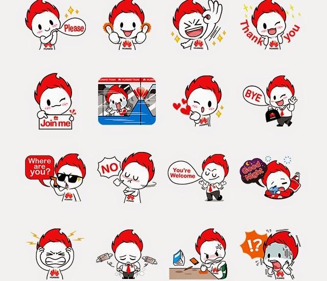 WeiWei stickers