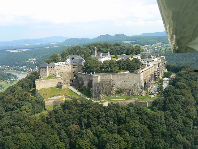to helen back festung koenigstein on the elbe from the air. Black Bedroom Furniture Sets. Home Design Ideas