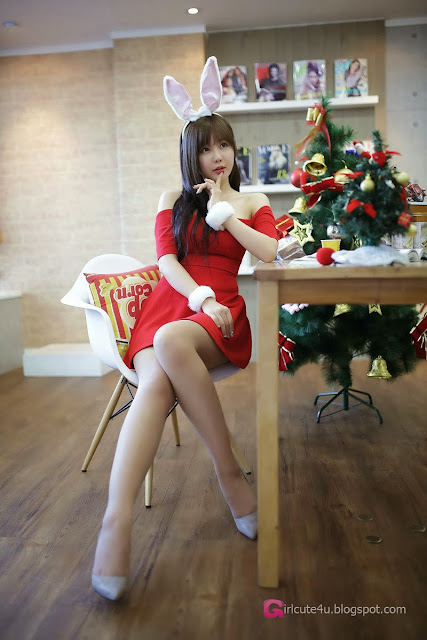 5 Ryu Ji Hye - Christmas - very cute asian girl-girlcute4u.blogspot.com
