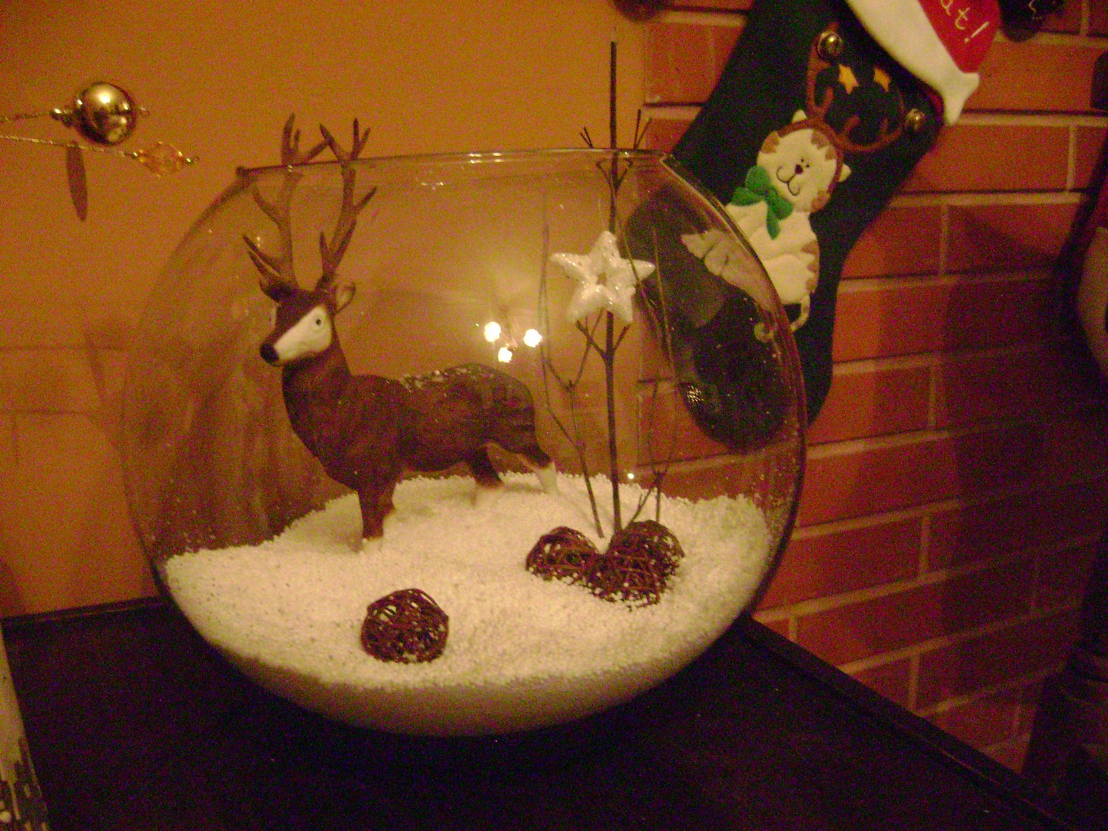 bueno estas son algunas de las decoraciones de navidad de
