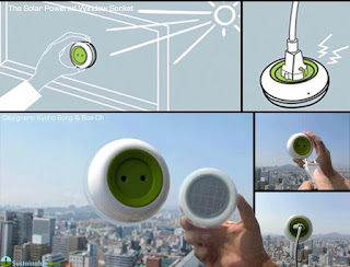 Stick This Portable Outlet To Your Window To Start Using Solar Power!