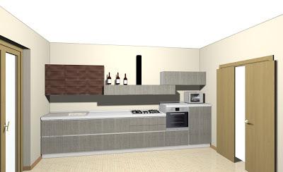 Domus arredi crea con veneta cucine la tua cucina lineare ideale adattandola alla tua parete - Crea la tua cucina ...