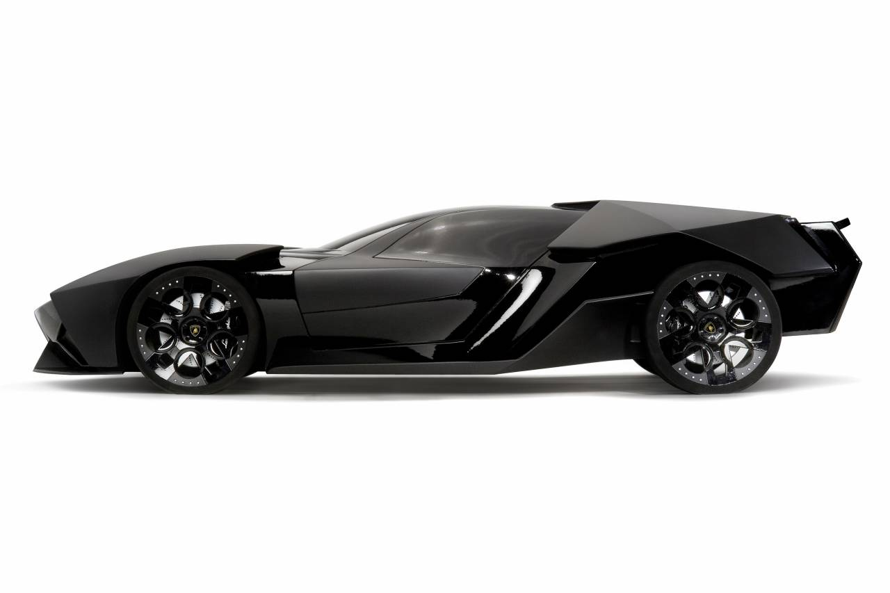 Lamborghini ankonian batmobile