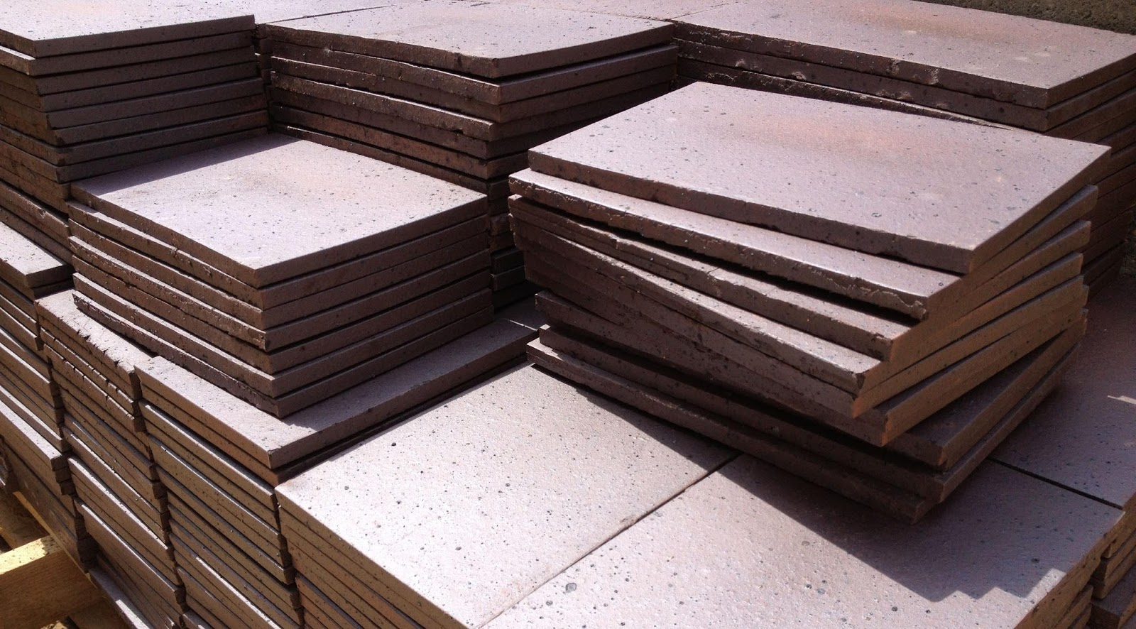 2 500 Blue Engineering Clay Creasing Tiles Have Been Delivered