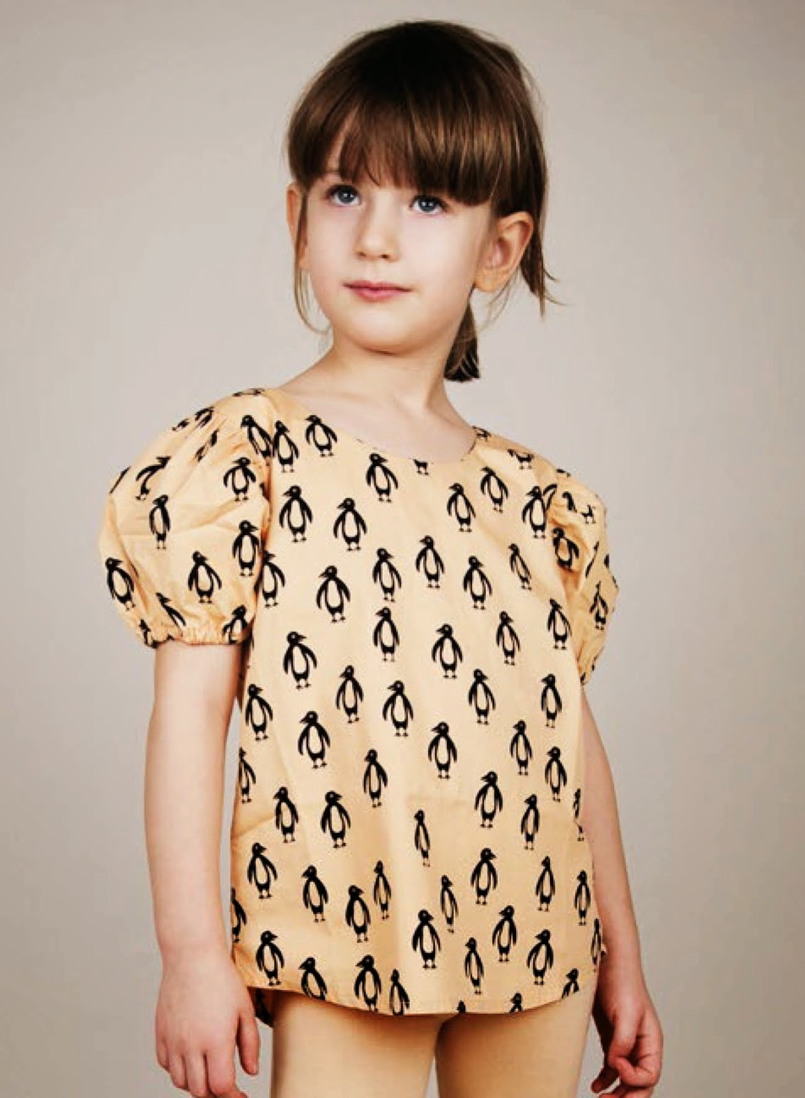 Pengus Blouse Mini Rodini Estocolmo Kids Adopt an animal