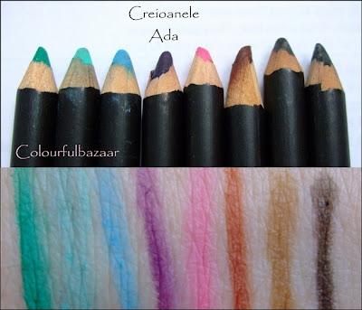 Culori creioane Ada