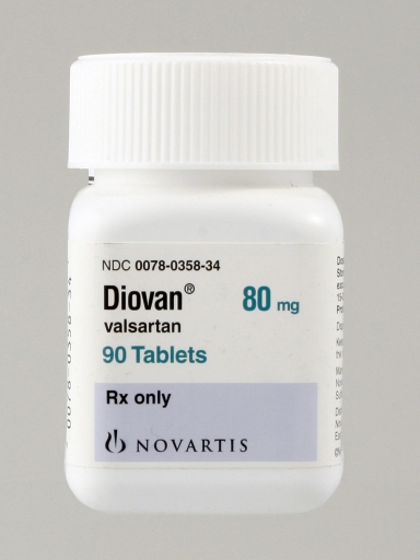 August 2012 for Diovan 80 tablets