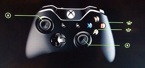 Xbox One remapping for two-switches. Accessibility features.