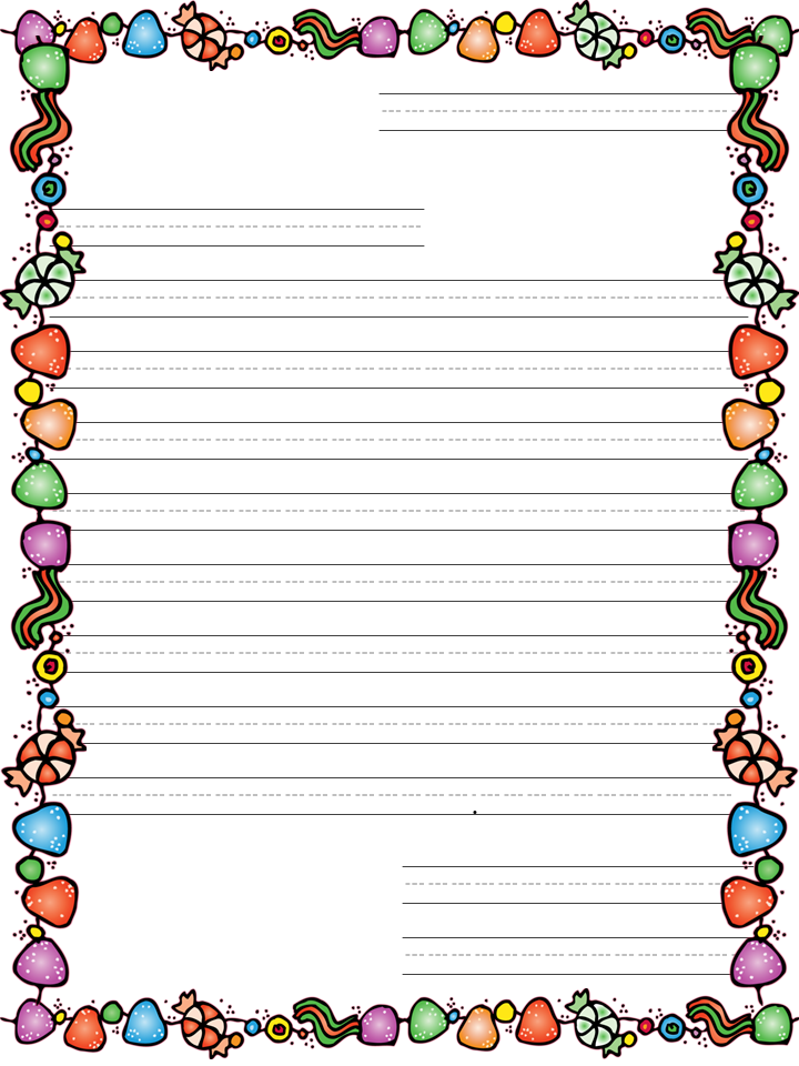 Letter To Santa Printable Template | New Calendar Template Site