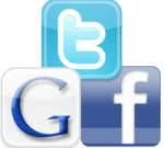 TOS Facebook, Google+ Twitter