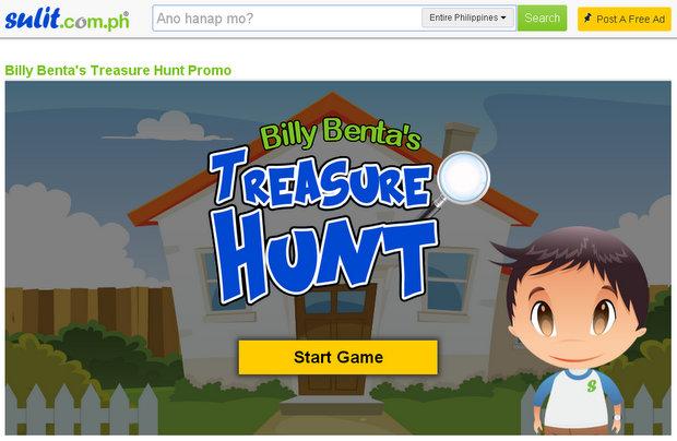 Sulit Billy Benta's Treasure Hunt Promo