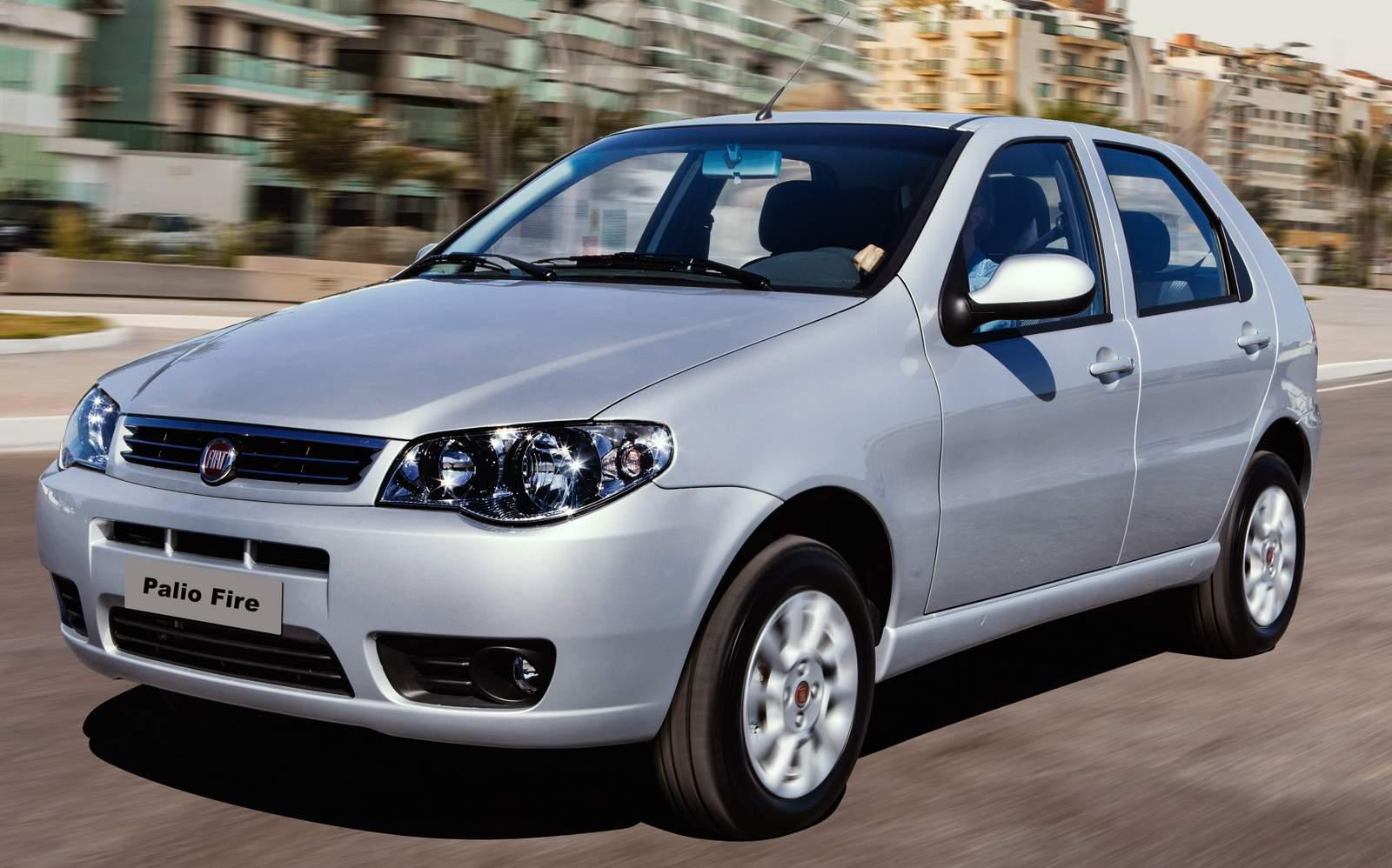 Fiat Palio - terceiro carro mais vendido do Brasil