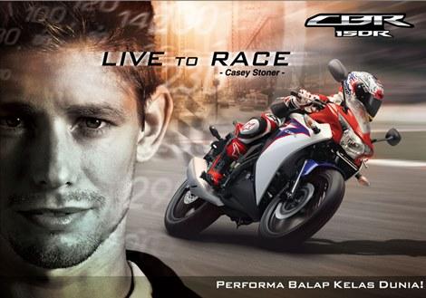 Harga Honda CBR 150R Medan,Juni 2013