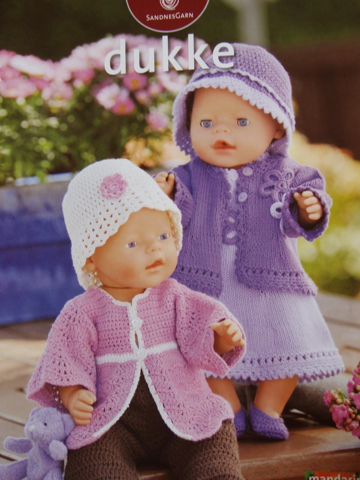 Dukketøj strikkeopskrifter gratis - Køkken overskabe