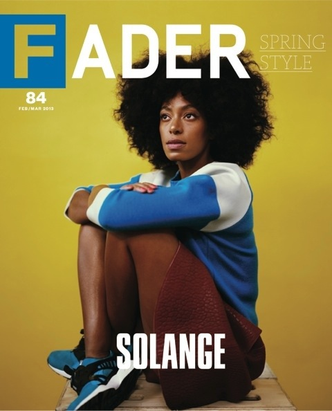 MAGAZINE SCOOP: Solange for FADER Magazine