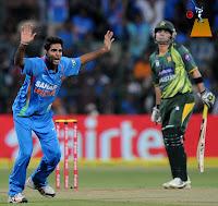 Bhuvneshwar Kumar Debut Against Pakistan