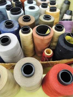 Wesco Fabrics, thread, custom drapery, artisan, hands