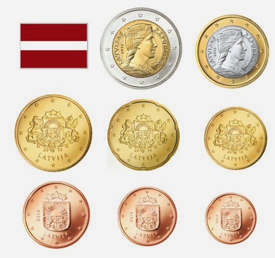 Latvian euro coins - Information, images and specifications