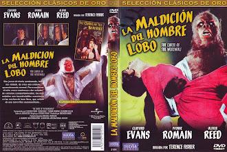 Carátula: La maldición del hombre lobo (1961) (The Curse of the Werewolf)