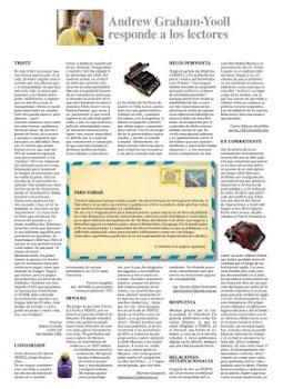GRACIAS POR LA PUBLICACION Y SU RESPUESTA DIARIO PERFIL DEL DIA DOMINGO 10 DE ABRIL DE 2011
