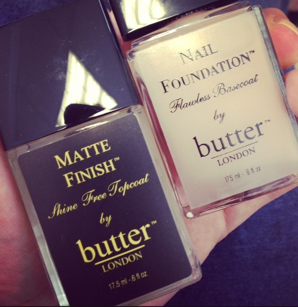 Butter London Nail Foundation and Matte top coat   Pixiwoo.com