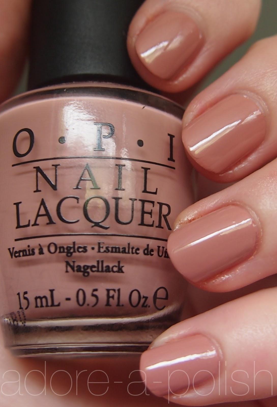 Opi Dulce De Leche Adore A Polish A Simple Beauty Blog