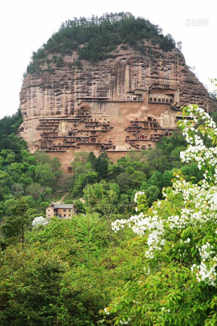 Mount Maiji Grottoes,China