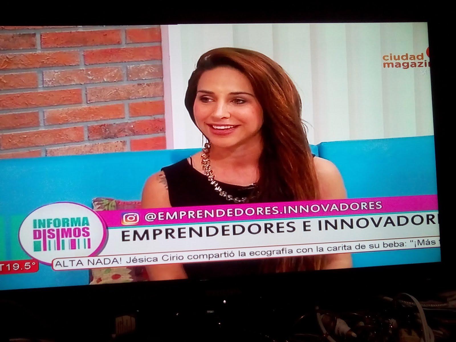 VANESA EN SU SEGMENTO DE TV EN INFORMADISIMOS EN EL CANAL MAGAZINE