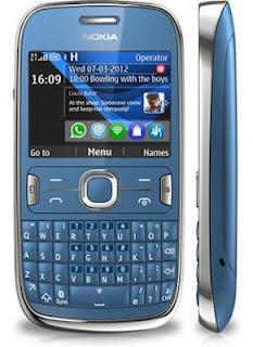 Nokia asha 302 não envia sms