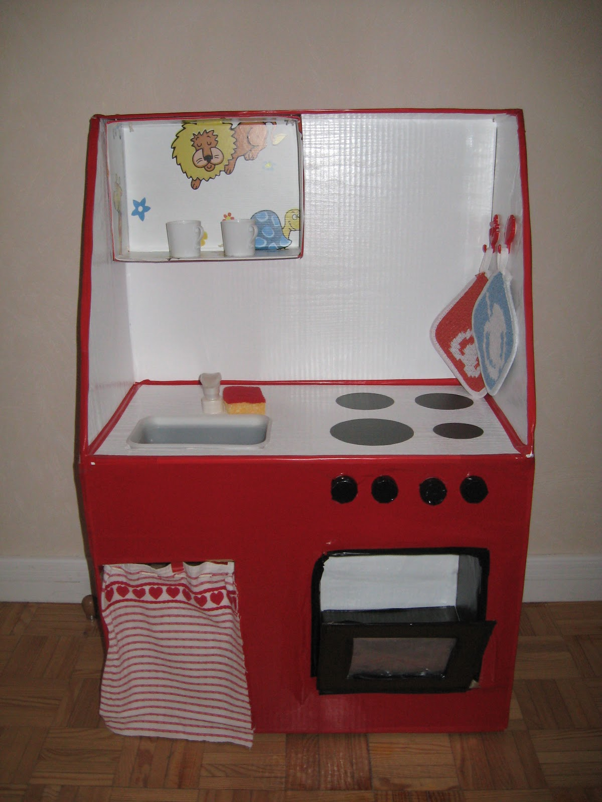 Mammarum giochi fai da te come costruire una cucina per - Cucine bambini ikea ...