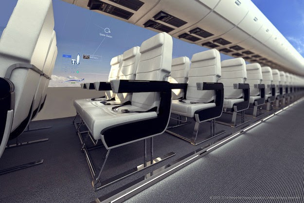 Future plains will have wider seats