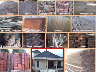 Perkiraan Daftar Harga Bahan Bangunan 2014