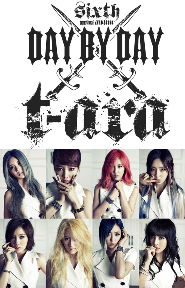 ** UPDATE ** T-ara Day By Day Concept Photo