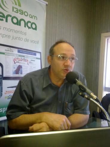 Pastor Alvaro Braun e também responsável pela Secretaria de Missões de Porto Alegre