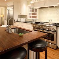 Black Caesarstone Kitchen