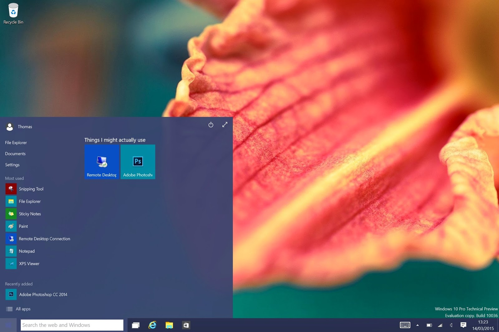 Download Windows 10 Build 10036